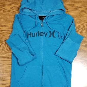 Hurley full zip hoodie